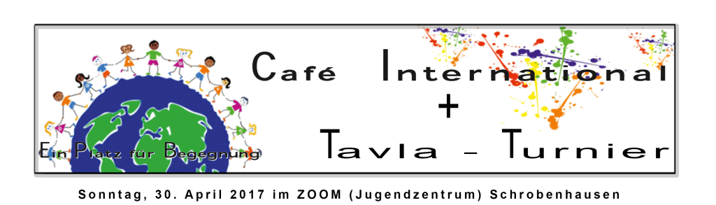 Café International und Backgammon/Tavla-Turnier im Jugendzentrum