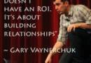 """Gary Vaynerchuk:  """"that one negative tweet will not kill your business. BP fucked up the ocean, and we're still fueling up our cars"""""""