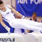 Krish Gerry Wins Pommel Horse Gold