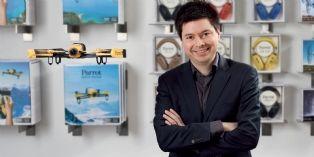 Nicolas Halftermeyer, Parrot