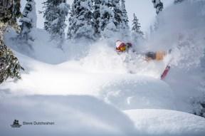 Larry @ Monashee / Photo: Steve Dutcheshen