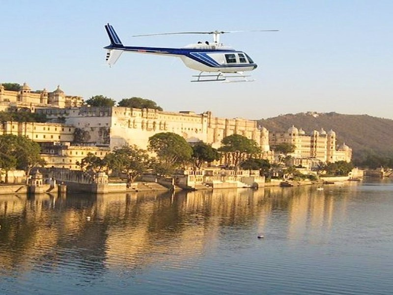 Helicopter tours in Udaipur