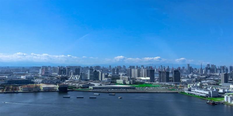 Ariake region of Tokyo