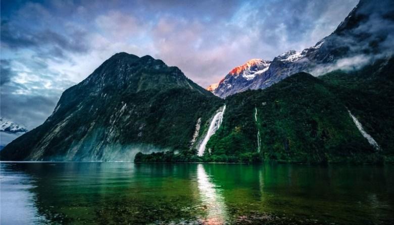 Lady Bowen Falls in Milford Sound