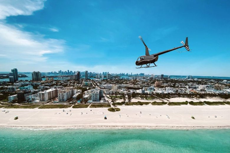 Private helicopter tour of Miami