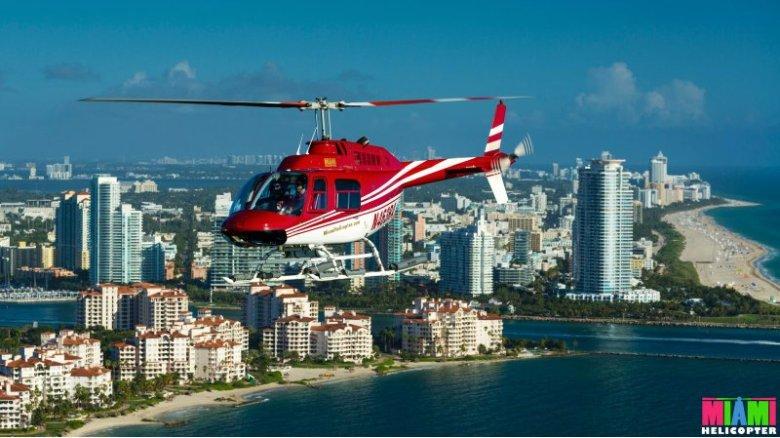 Taste of Miami helicopter tour