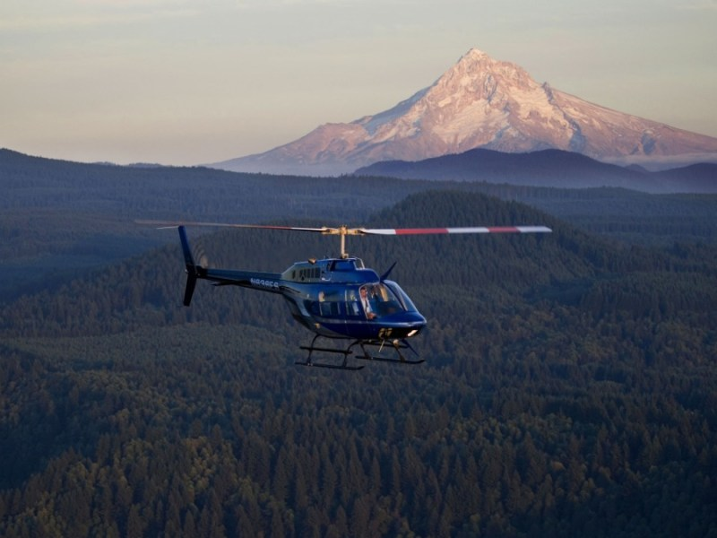 Helicopter tours in Portland, Oregon