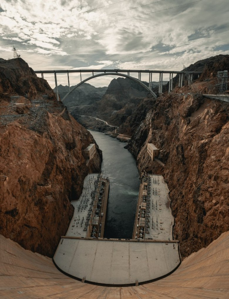 Visiting Hoover Dam near Las Vegas