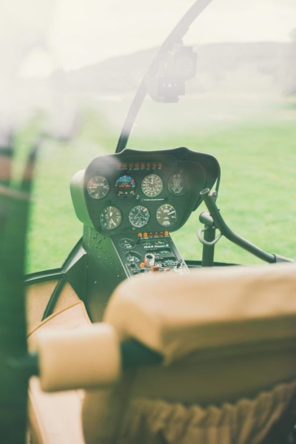 Opleiding helikopterpiloot Robinson R44
