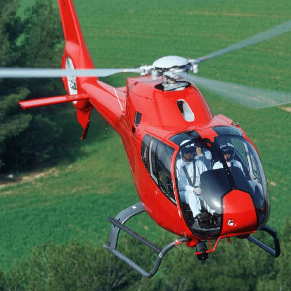 Luchtdoop helikopter cadeau waardebon 15 minuten