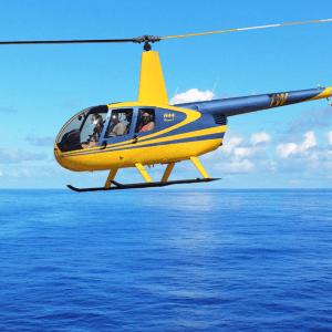Rondvlucht helikopter – 3 personen – 30 minuten