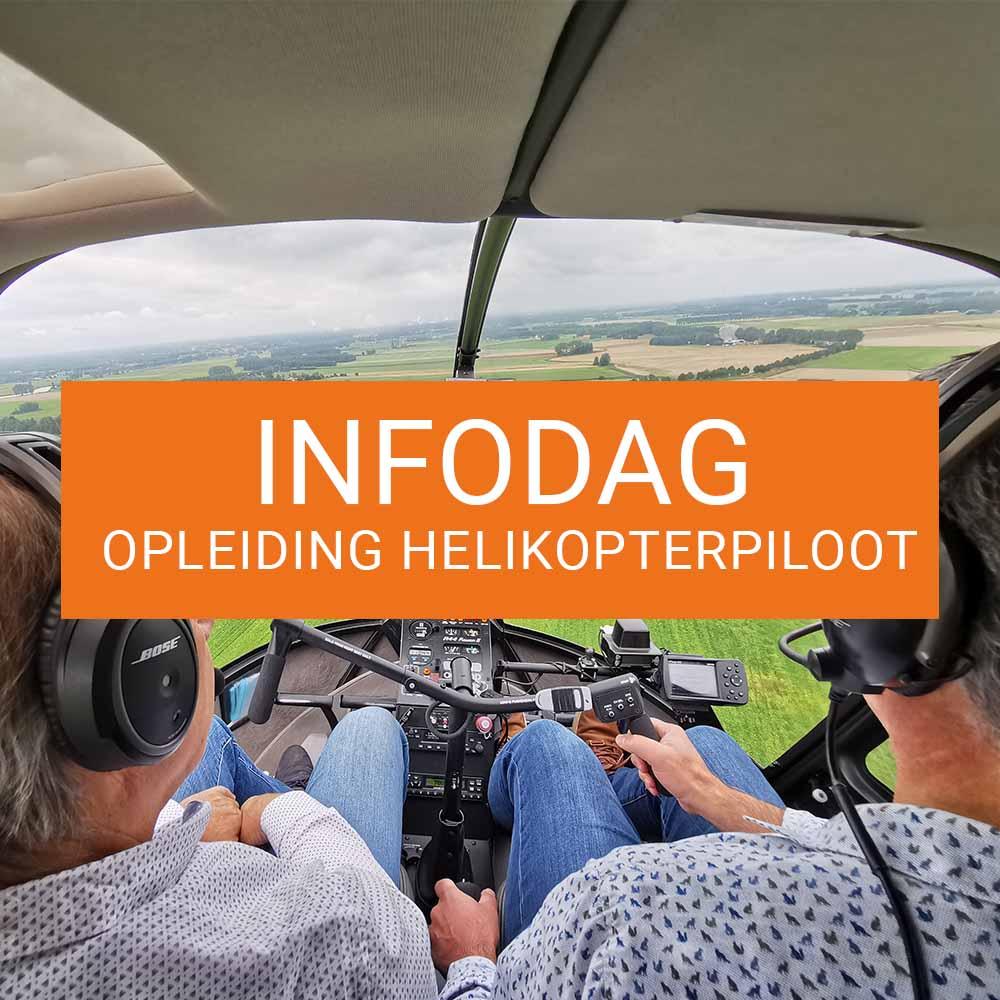 Je bekijkt nu Infodag opleiding helikopterpiloot te Knokke