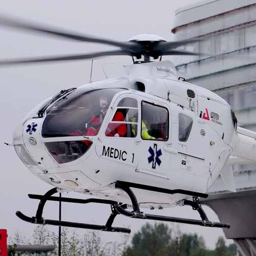 Medische Ambulance MUG helikopter MEDIC1