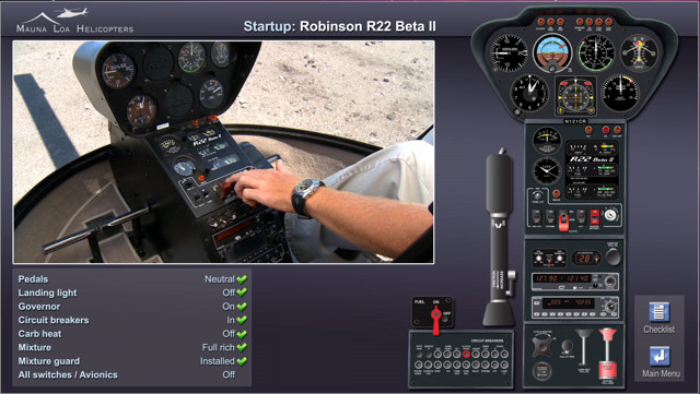 R22 R44 Preflight Software Mauna Loa Helicopters