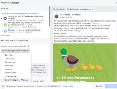 promo-rápidas whatsapp facebook