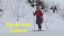 Ski de fond loisirs