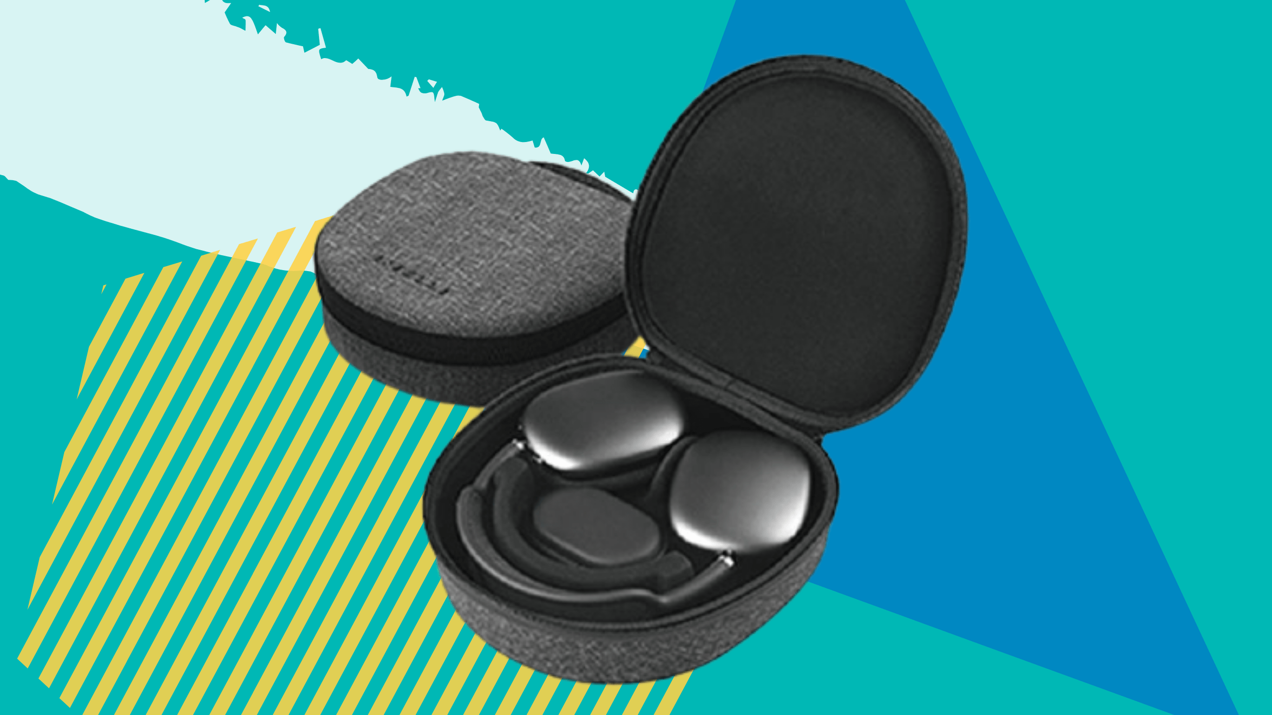 A built-in magnetic fin will put your AirPods Max into sleep mode when they're in the case.