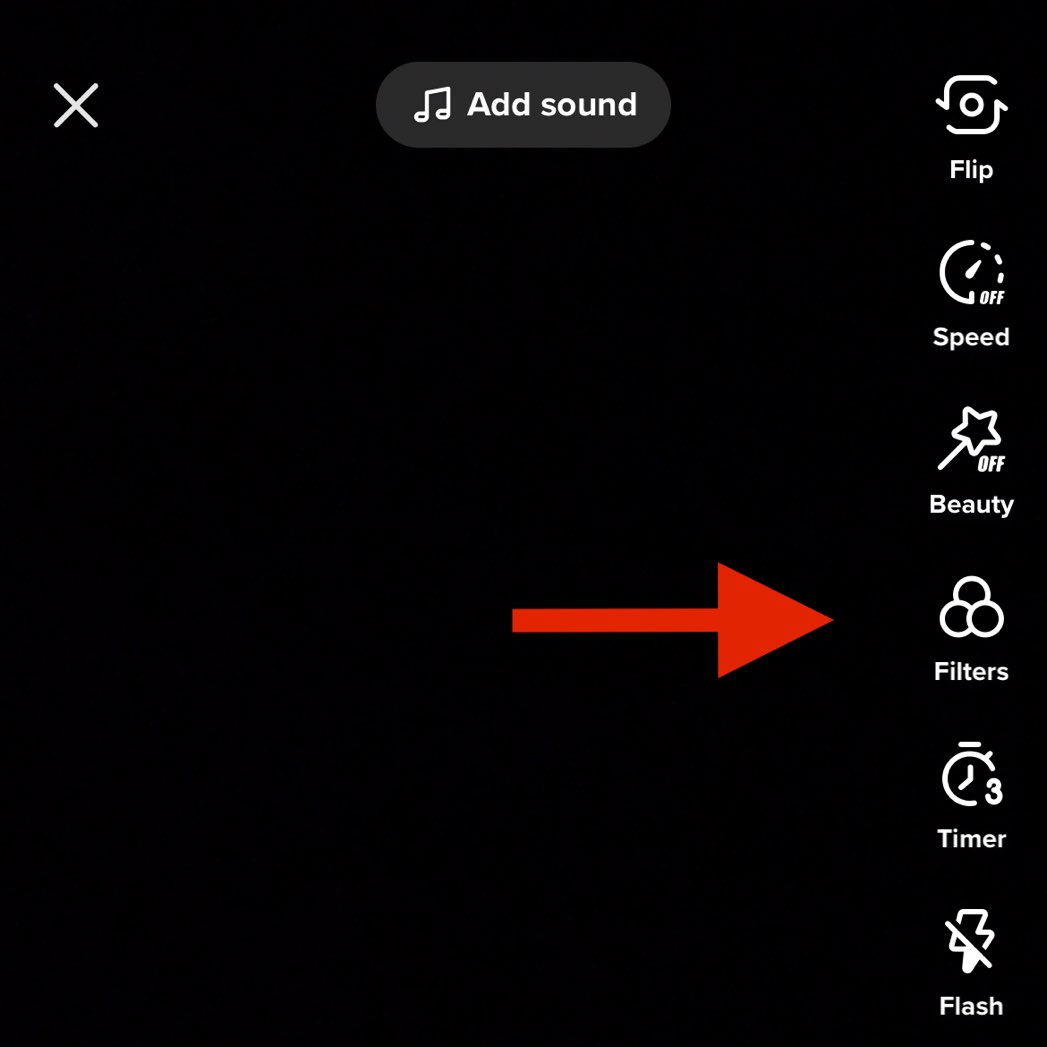 Tap the button labeled