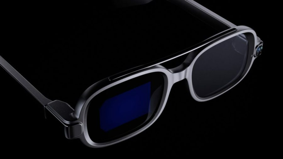 Can you spot the display in the right lens?