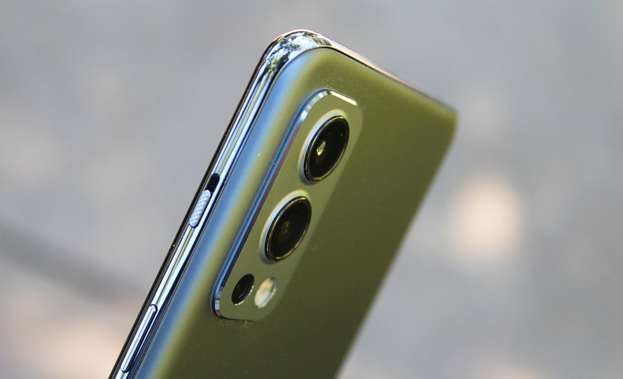 On the back, there's a triple rear camera with a 50-megapixel main sensor.