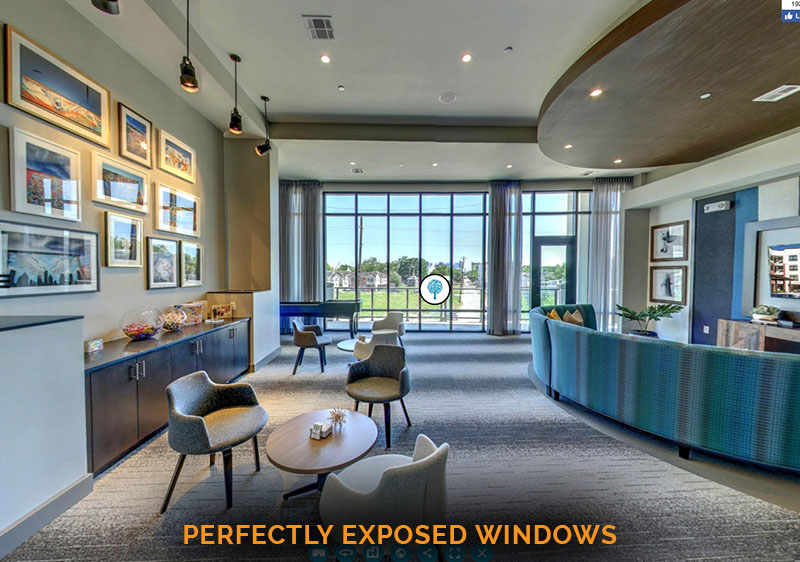 perfectly exposed windows