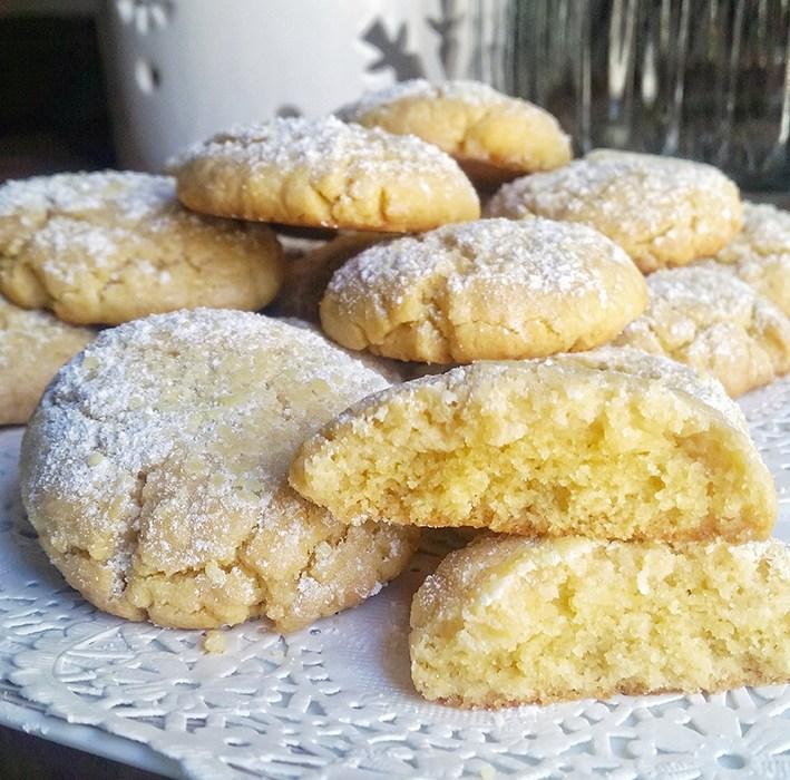 Mes cookies tout ronds au citron et à l'huile d'olive