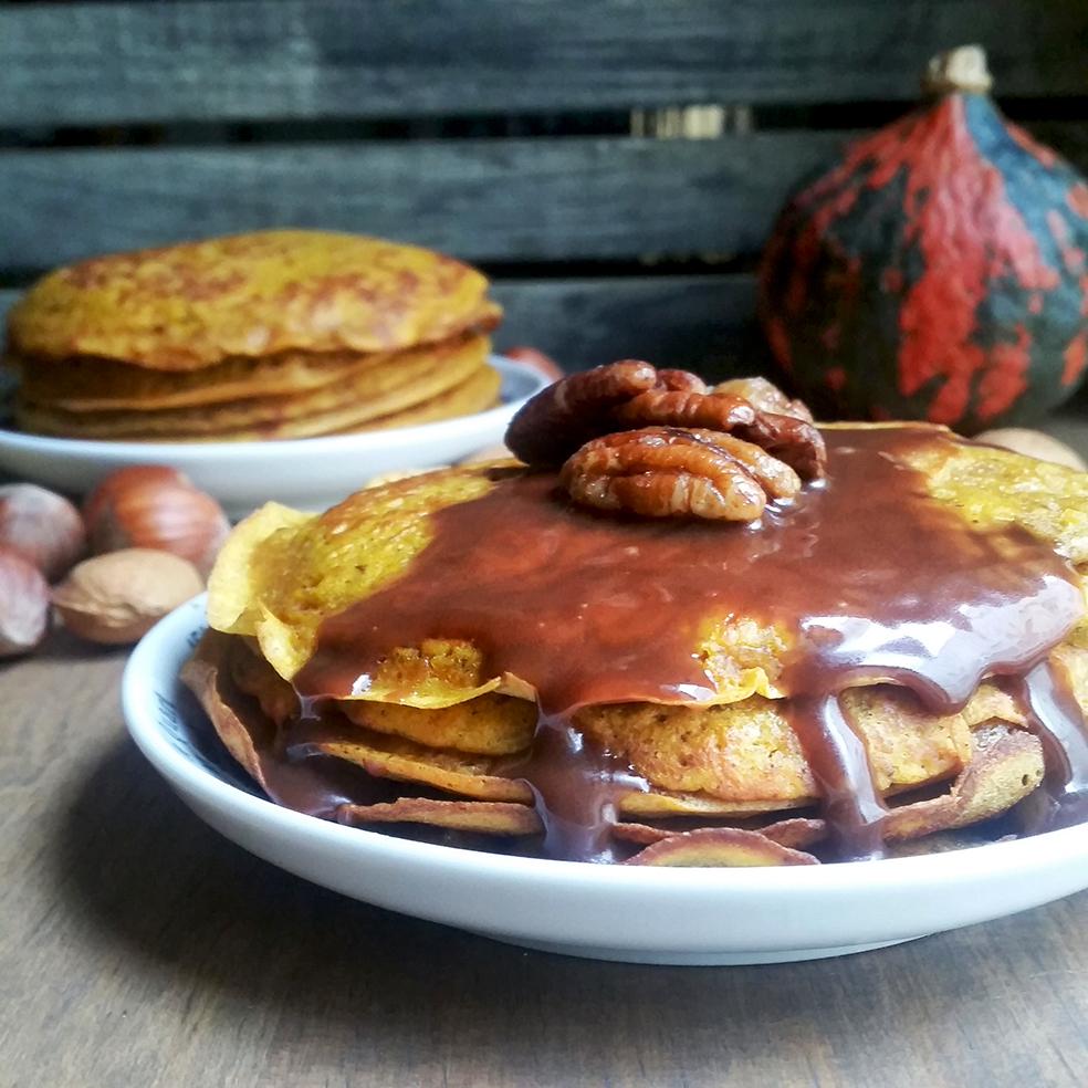 Pancakes Potimarron