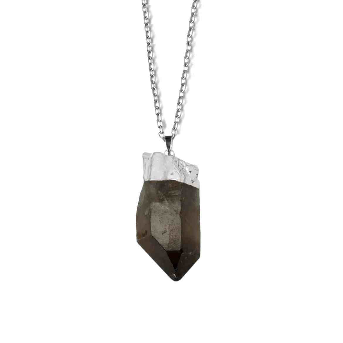 XL Smoke Quartz Necklace