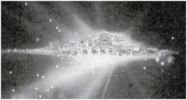 Celestial city of New Jerusalem photographed by NASAs