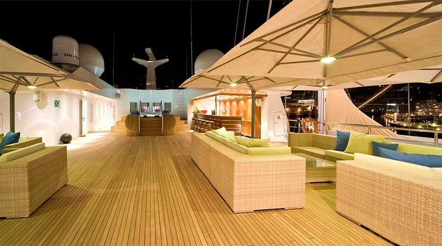 Super Motor Yacht LAUREN L for Charter in Greece and French Riviera - HELLAS YACHTING