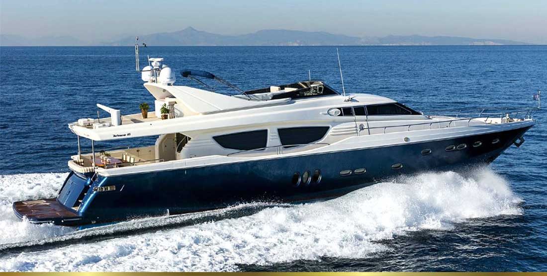 Motor Yachts Charter in Greece - HELLAS YACHTING
