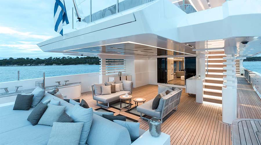 OURANOS - Charter Motor Yacht in Greece - HELLAS YACHTING