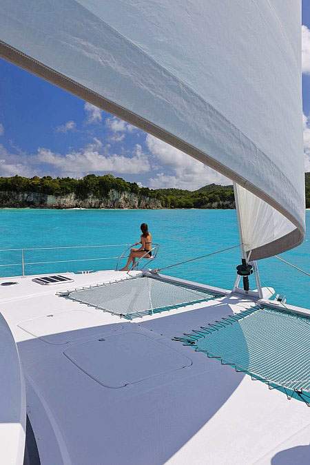 HIGH JINKS - Crewed Catamaran for Charter in Greece - HELLAS YACHTING