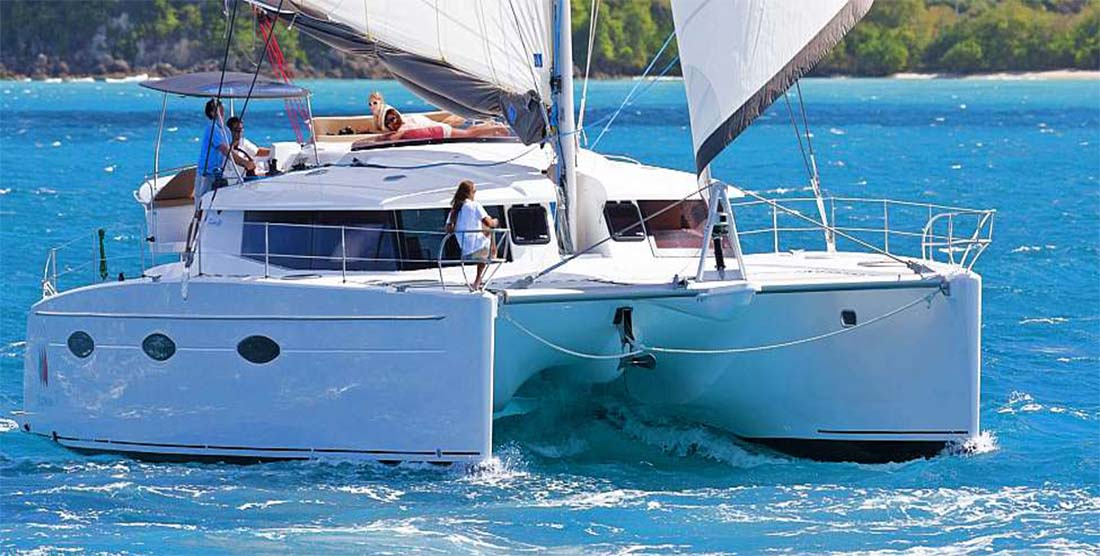 HIGH JINKS - Crewed Catamaran for Charter in Greece and the Greek Islands - HELLAS YACHTING