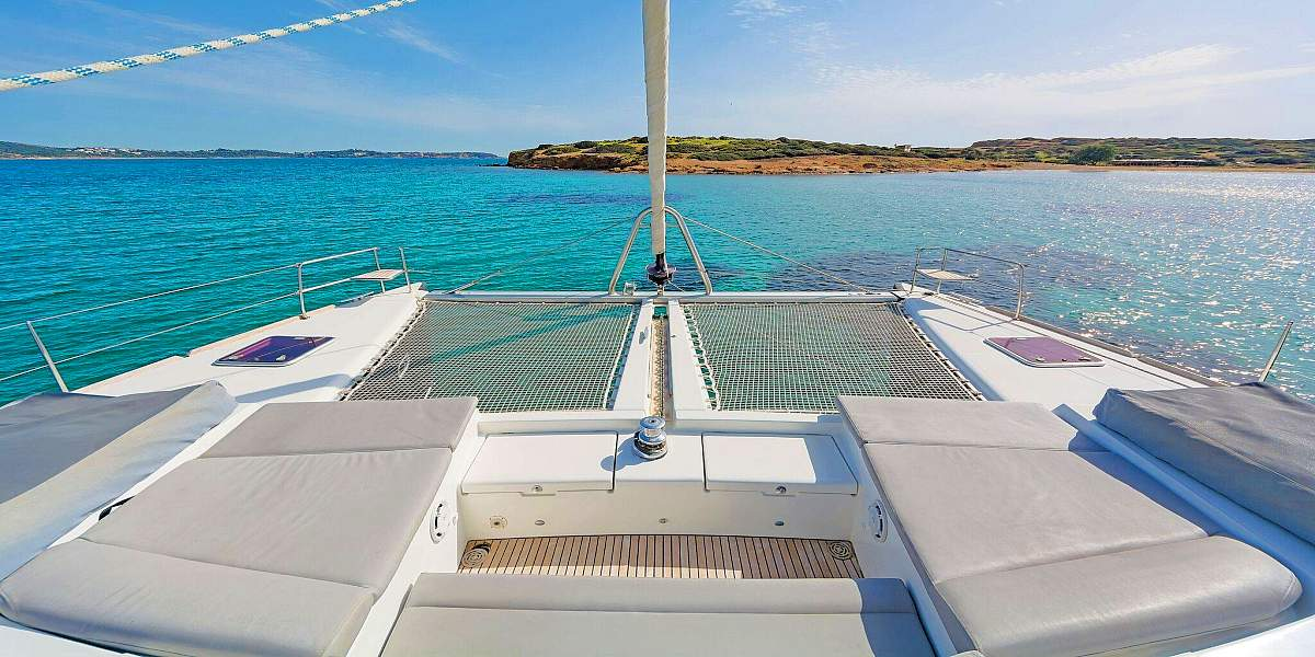 IDEA - Crewed Catamaran Charter in Greece - HELLAS YACHTING-1