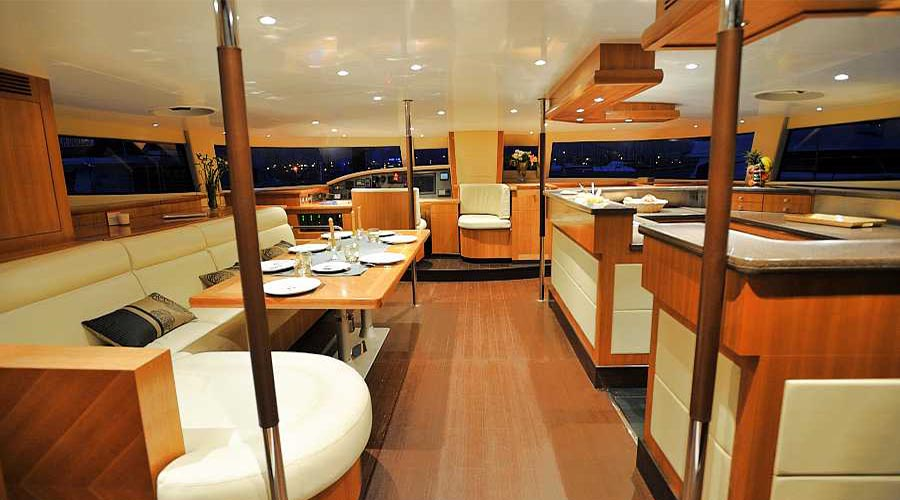 WORLDS END - Crewed Catamaran for Charter in Greece