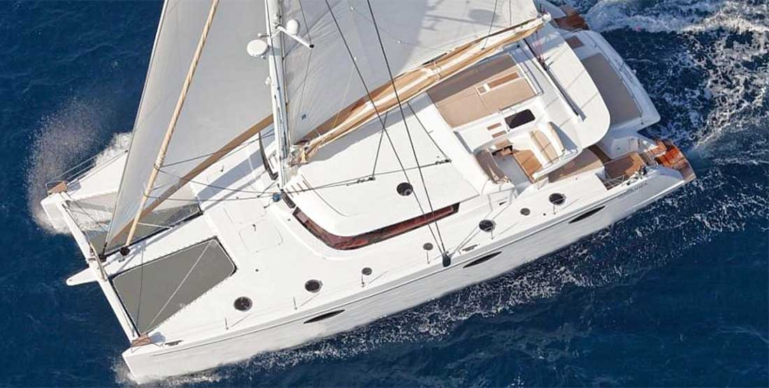 WORLDS END - Crewed Catamaran Charter in Greece - Hellas Yachting