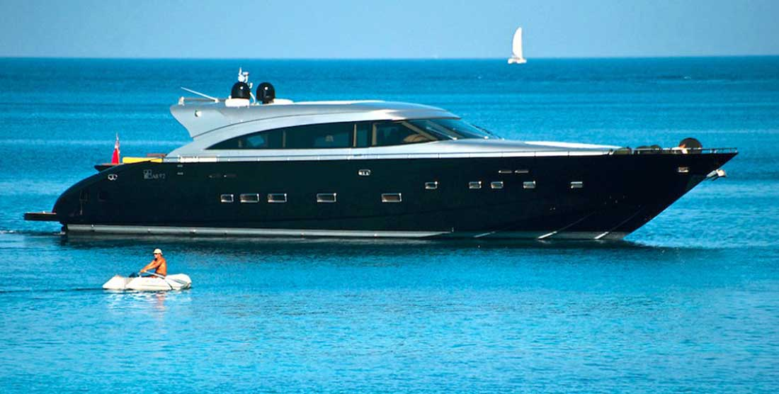 GEORGE P - Luxury Motor Yachts Charter Greece - HELLAS YACHTING