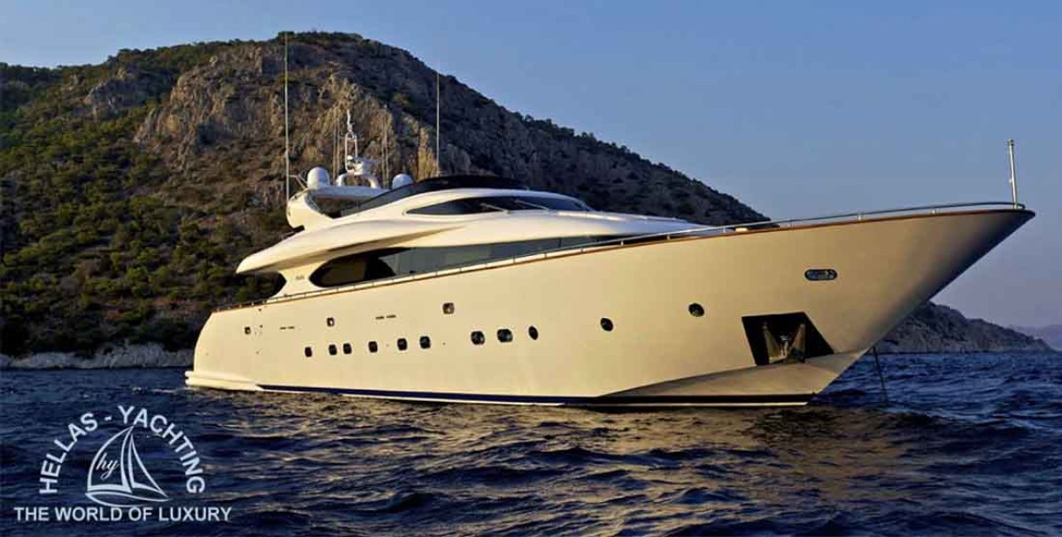Motor Yacht MARNAYA - Luxury Yachts Charter Greece - Hellas Yachting