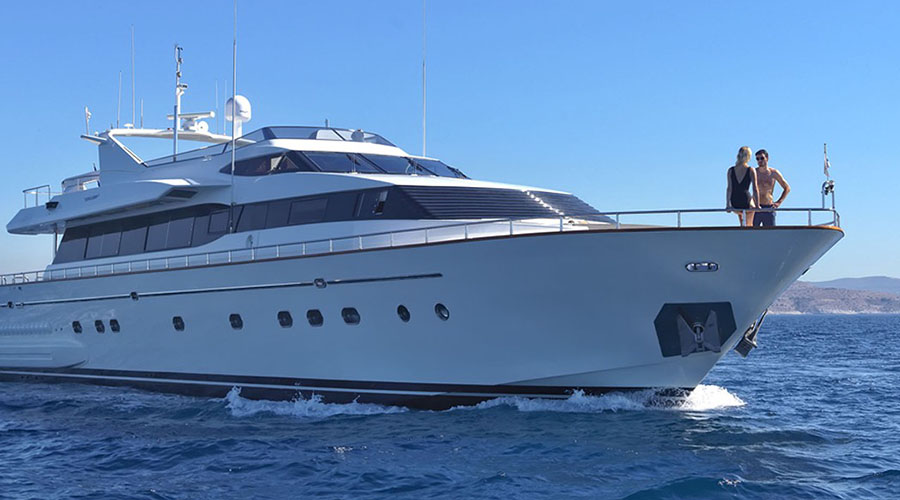 MARTINA - Charter Motor Yacht Falcon 100 ft - HELLAS YACHTING