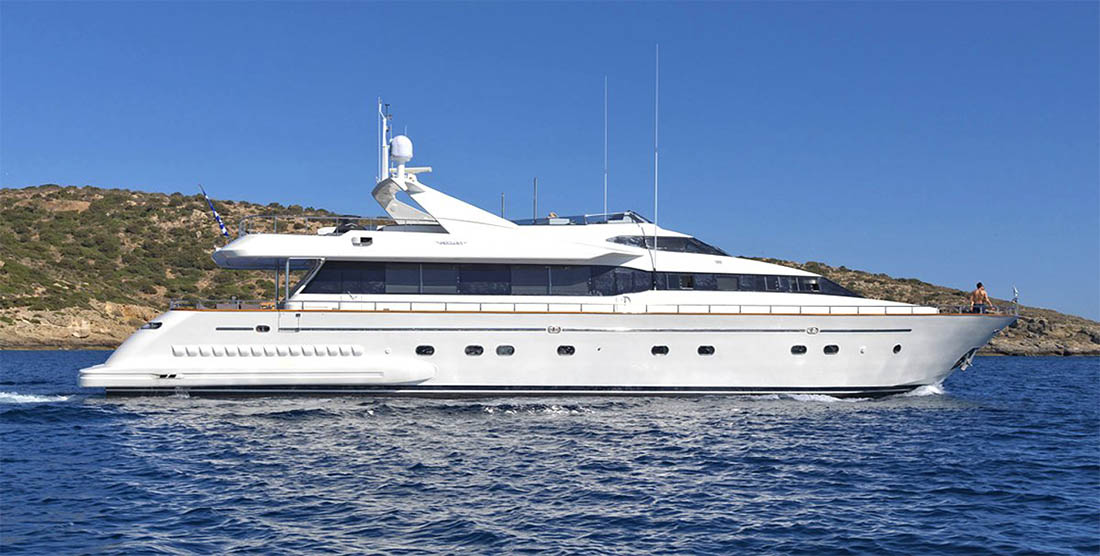 MARTINA - Luxury Motor Yacht Charter Greece - HELLAS YACHTING