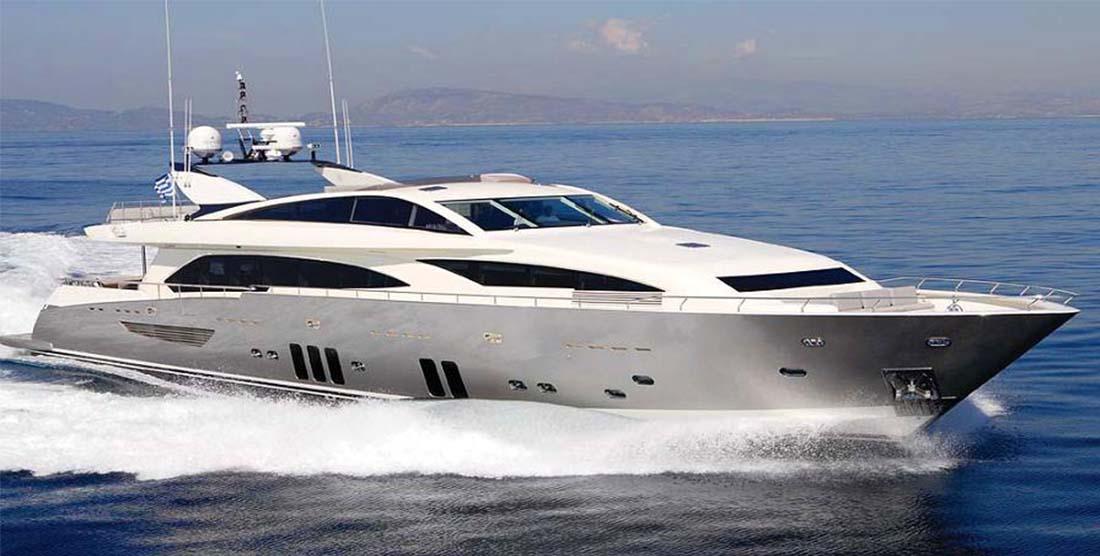 Motor Yacht DRAGON - Luxury Yachts Charter Greece - HELLAS YACHTING