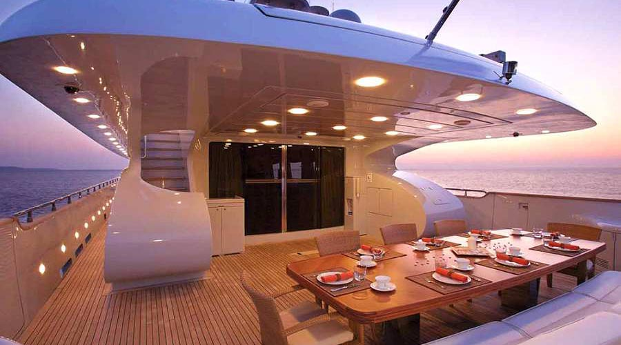 GLAROS - Motor Yacht for Charter in Greece - HELLAS YACHTING
