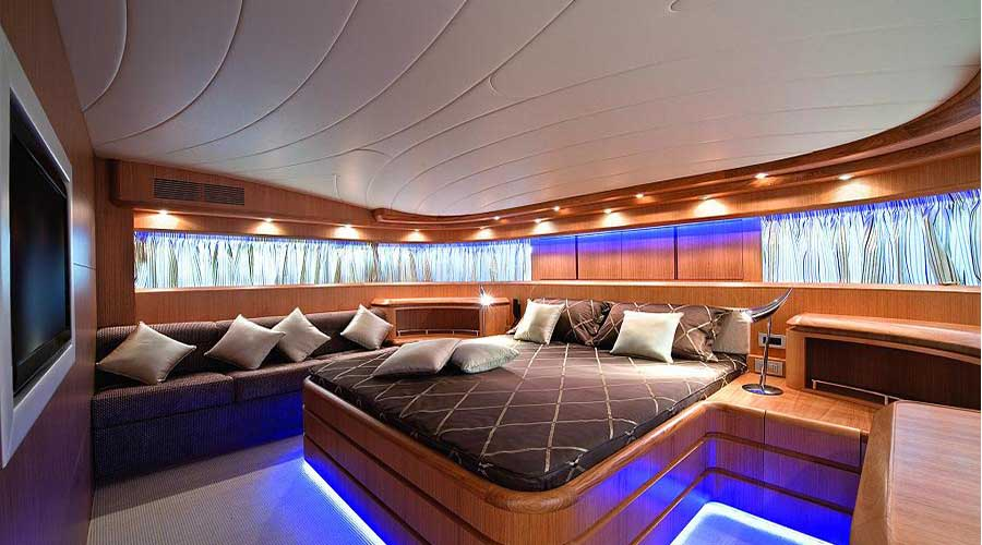 Luxury Motor Yacht PARIS A for private cruises in Greece with HELLAS YACHTING