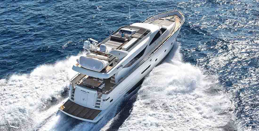 Motor Yacht AIMILIA - Luxury Yacht Charter Greece - HELLAS YACHTING