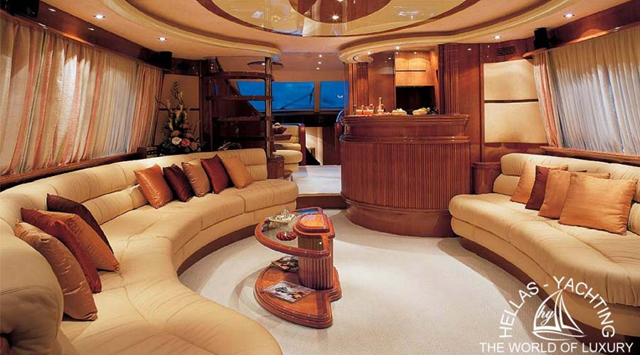 IRIS - Charter Motor Yacht in Greece - HELLAS YACHTING