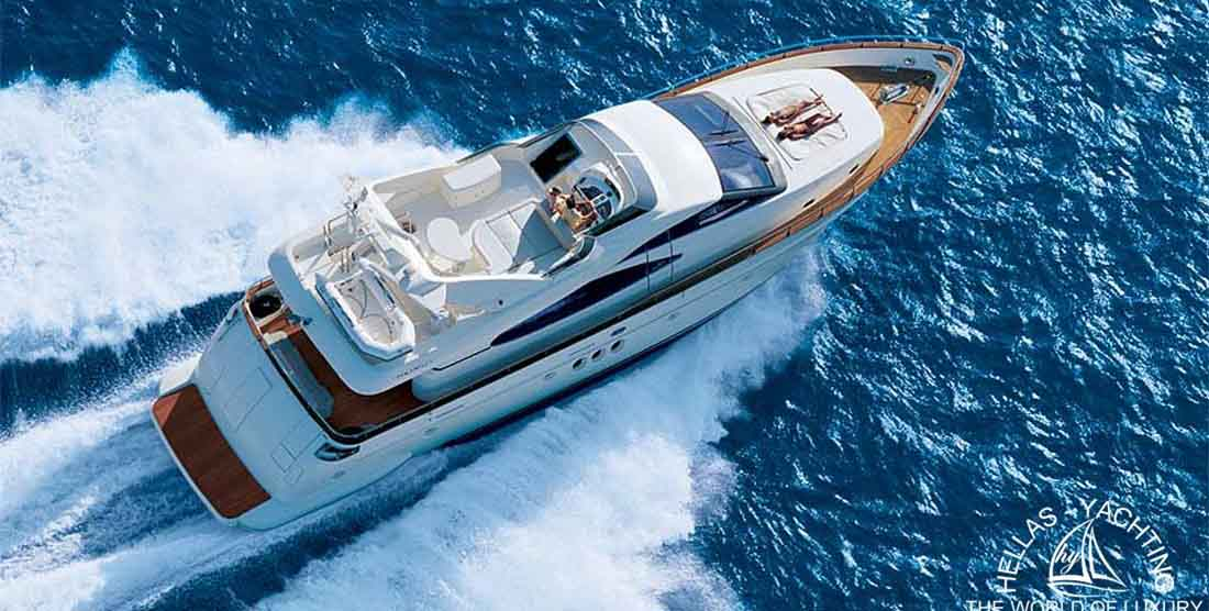 IRIS Luxury Yacht - HELLAS YACHTING