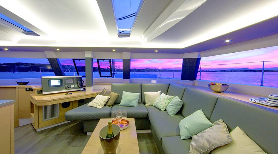 NEW HORIZONS II - Crewed Catamaran for Charter in Greece - HELLAS YACHTING