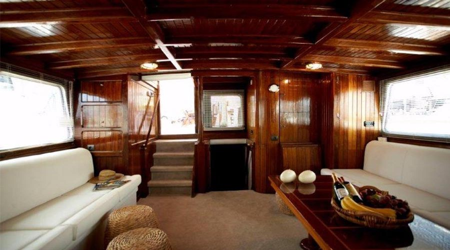 Motor Sailer ASTARTE for Charter in Greece - HELLAS YACHTING