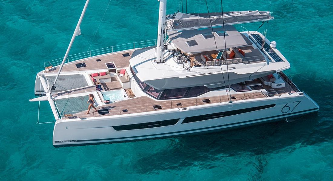NUMBER ONE - Crewed Charter Catamaran in Greece - HELLAS YACHTING
